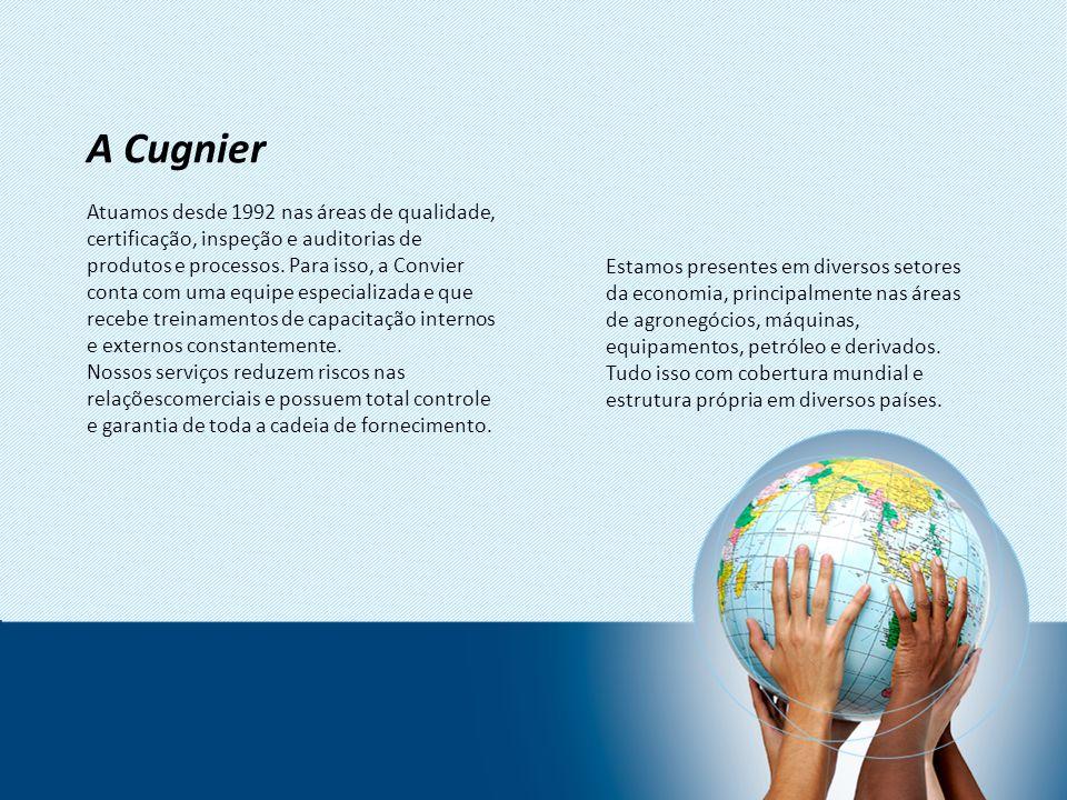 Atuamos desde 1992 nas áreas de qualidade, certificação, inspeção e auditorias de produtos e processos. Para isso, a Convier conta com uma equipe espe