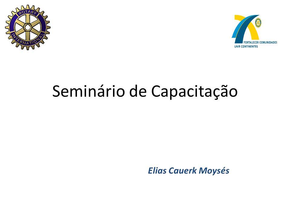 Seminário de Capacitação Elias Cauerk Moysés