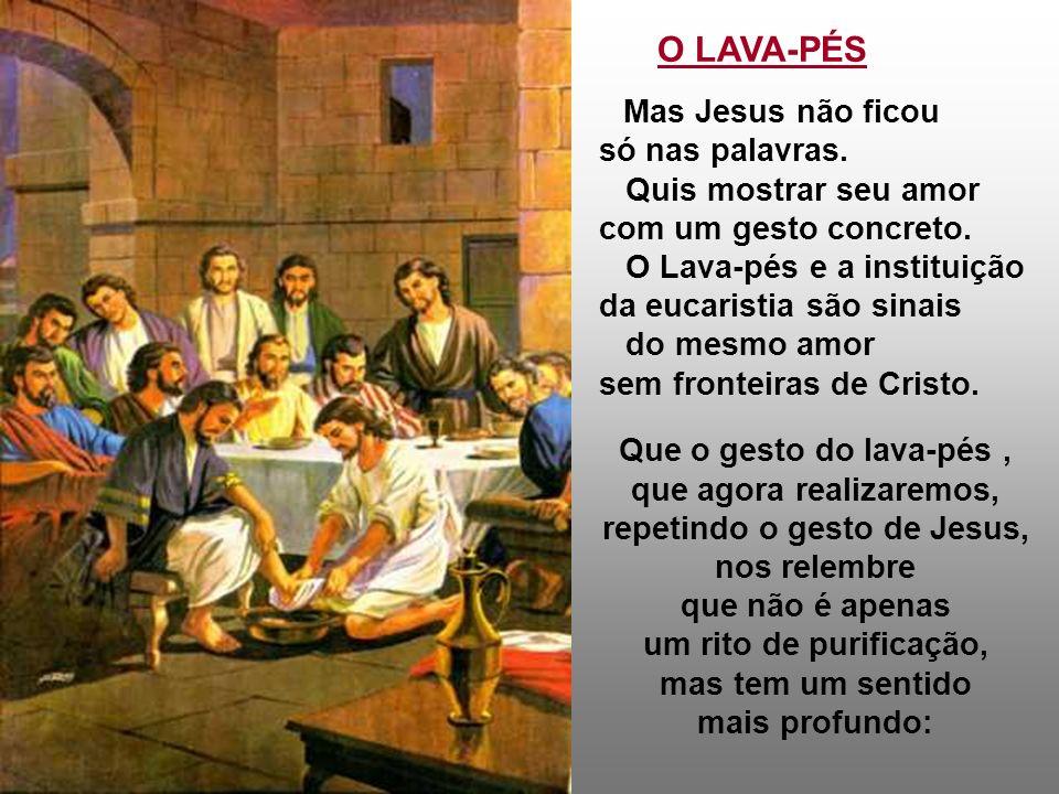 b) Dia do Sacerdócio: Para perpetuar a Eucaristia através dos tempos... através dos lugares: cria o SACERDOTE: Uma pessoa humana (com suas limitações)