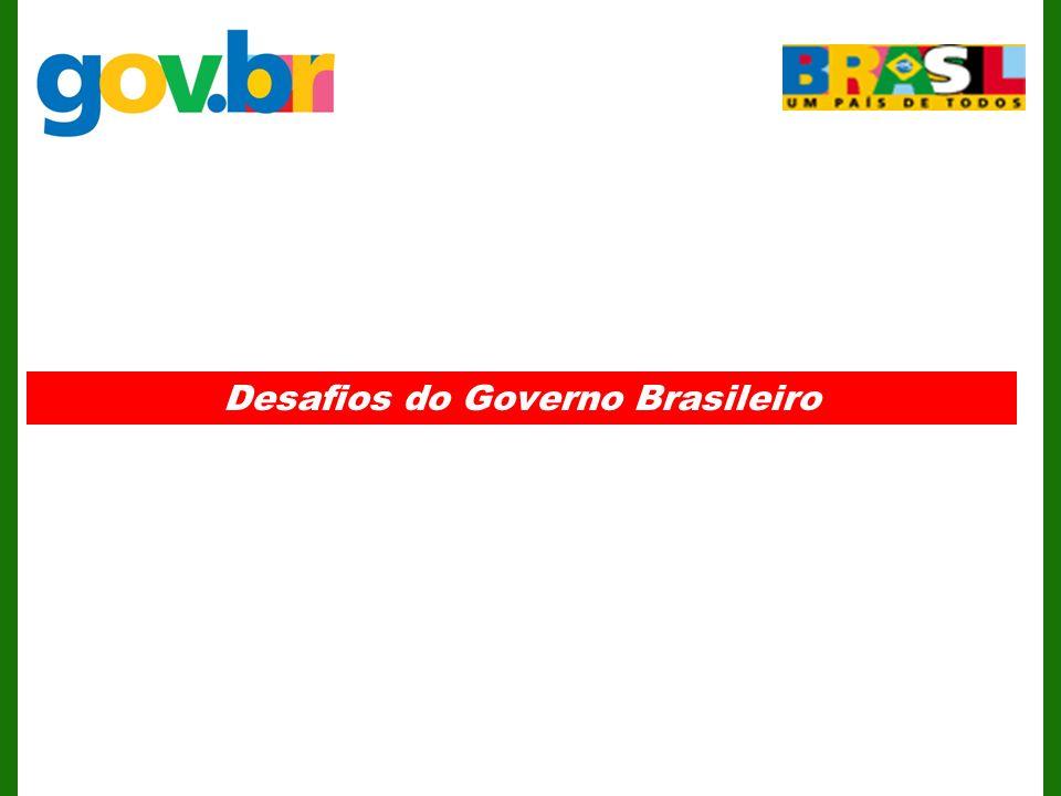 Desafios do Governo Brasileiro
