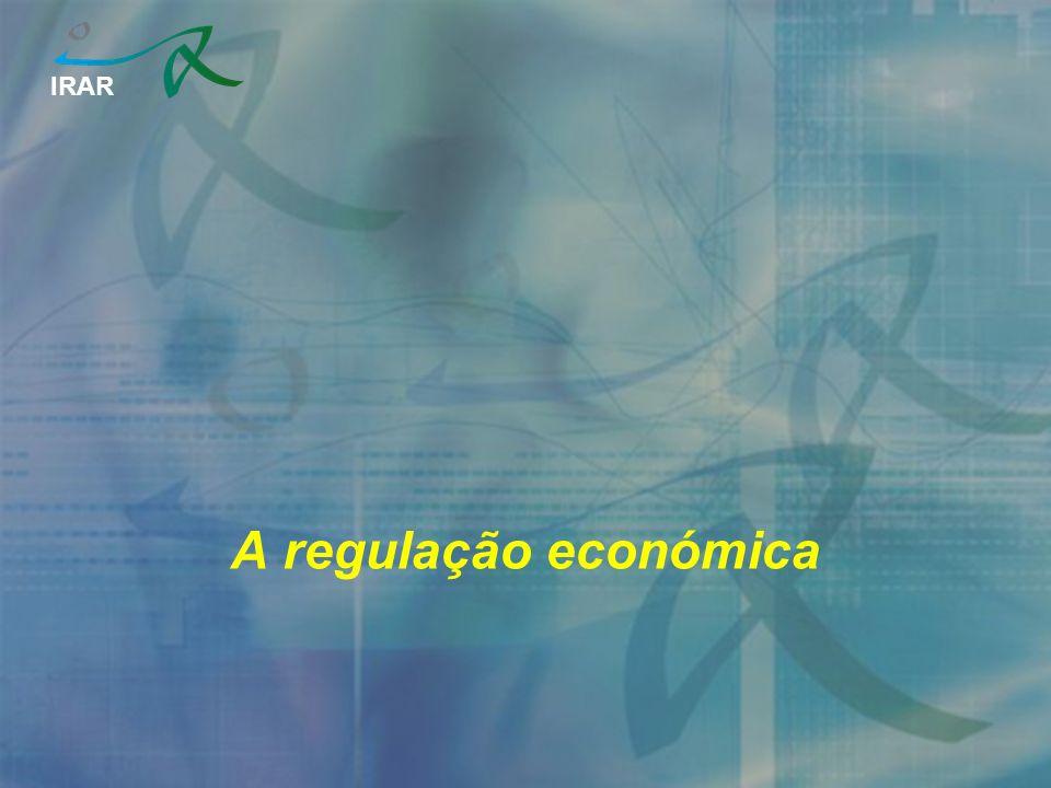 IRAR A regulação económica