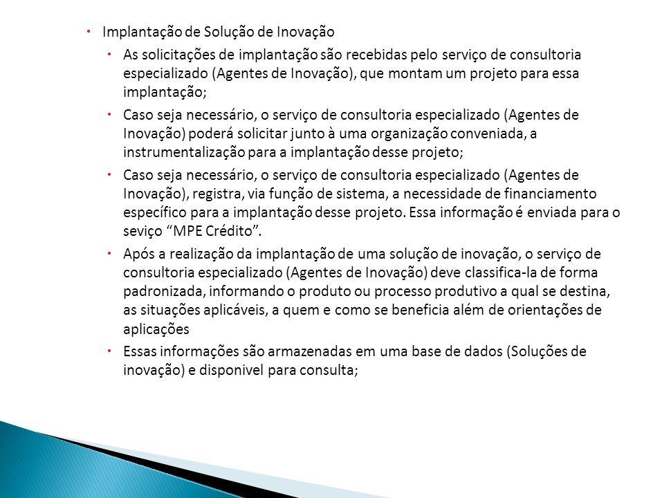 Nessa tela o serviço vai lançar o edital do resultado da pesquisa feita pelas Universidades, IPT, FAPESP.