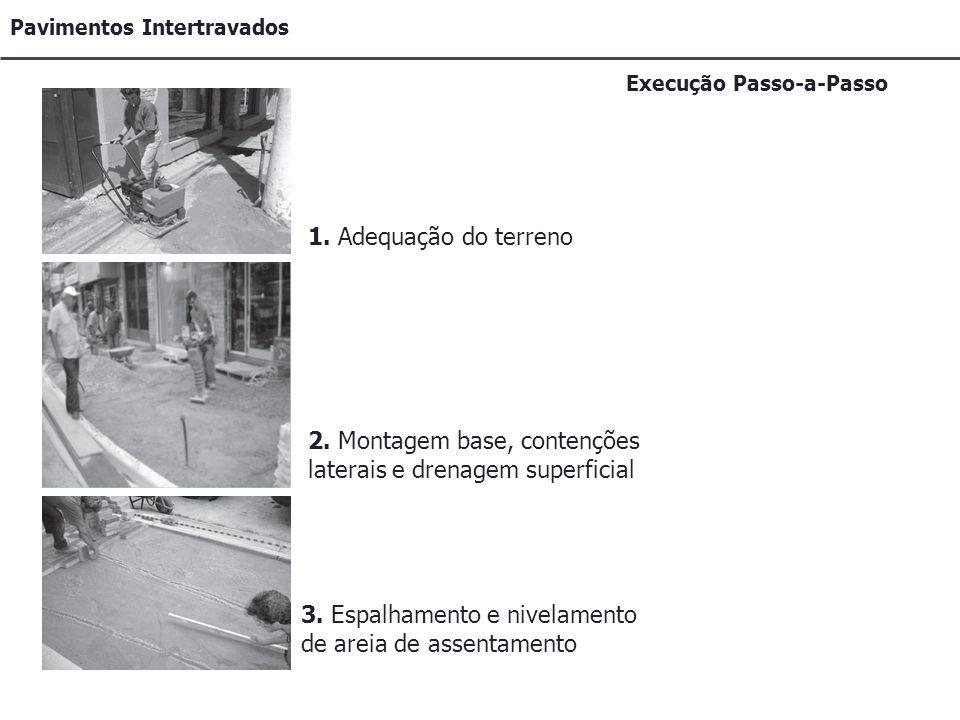 Pavimentos Intertravados Execução Passo-a-Passo 1.