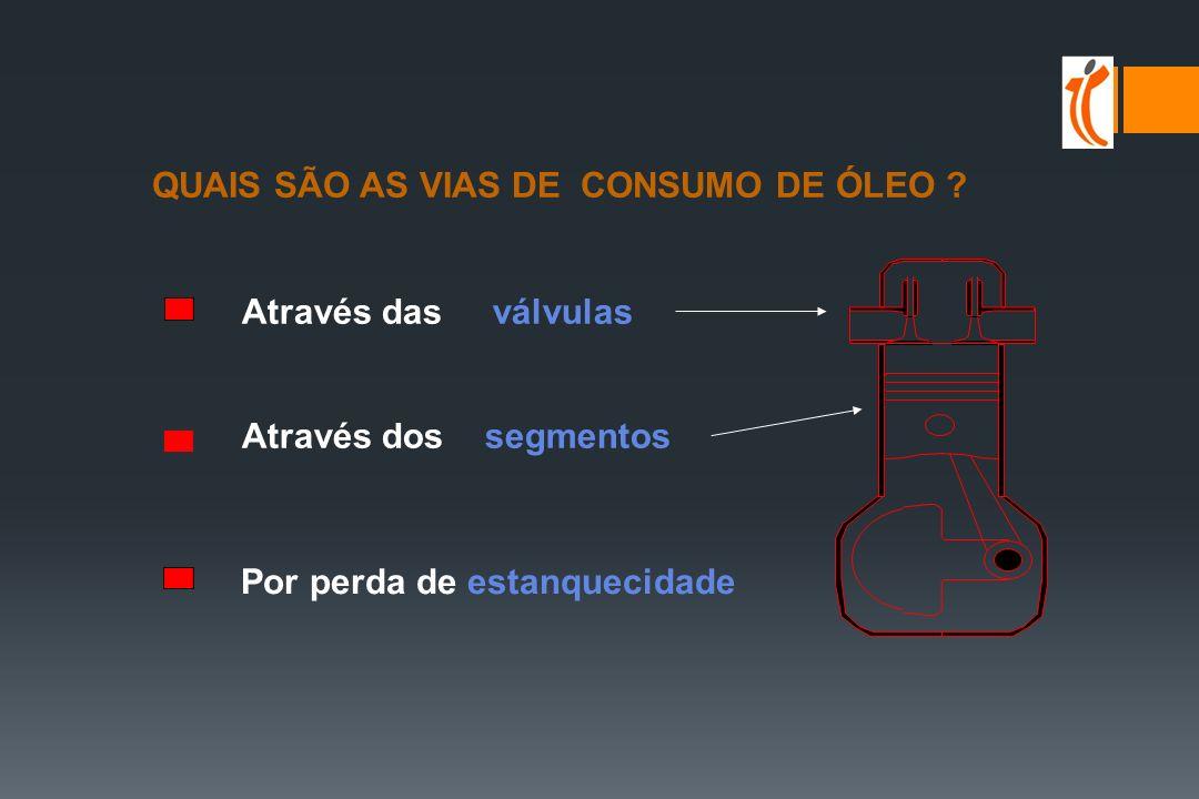 Consumo de Óleo QUAL O INTERESSE .