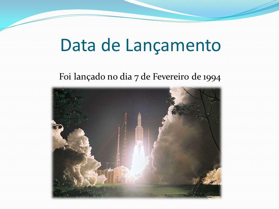 Data de Lançamento Foi lançado no dia 7 de Fevereiro de 1994