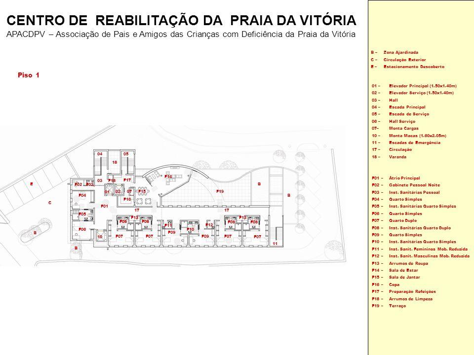 Piso 1 F01 – F02 – F03 – F04 – F05 – F06 – F07 – F08 – F09 – F10 – F11 – F12 – F13 – F14 – F15 – F16 – F17 – F18 – F19 – Átrio Principal Gabinete Pess