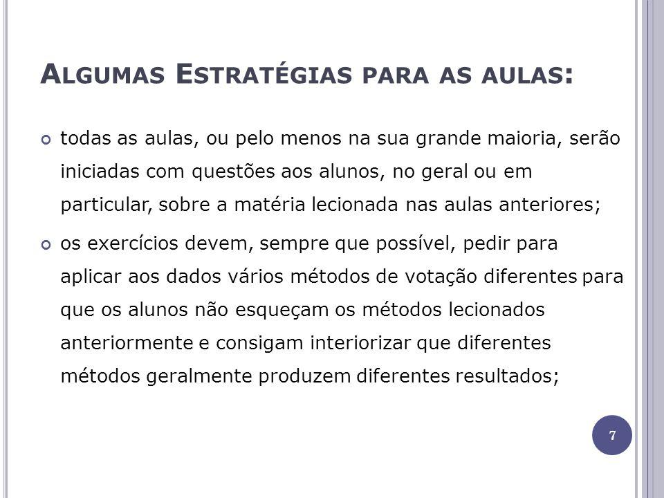 A ULA 2 Resolução de exercícios.