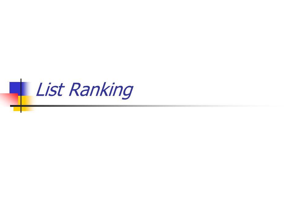 List Ranking