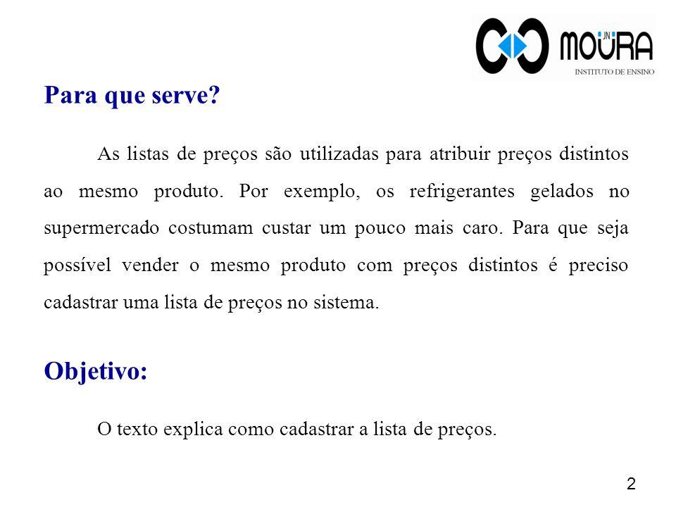 Dúvidas? Acesse o site www.jnmoura.com.br e conecte-se ao suporte on-line. 23