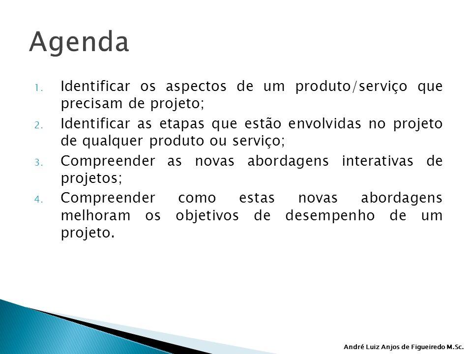 André Luiz Anjos de Figueiredo M.Sc.Agenda 1.