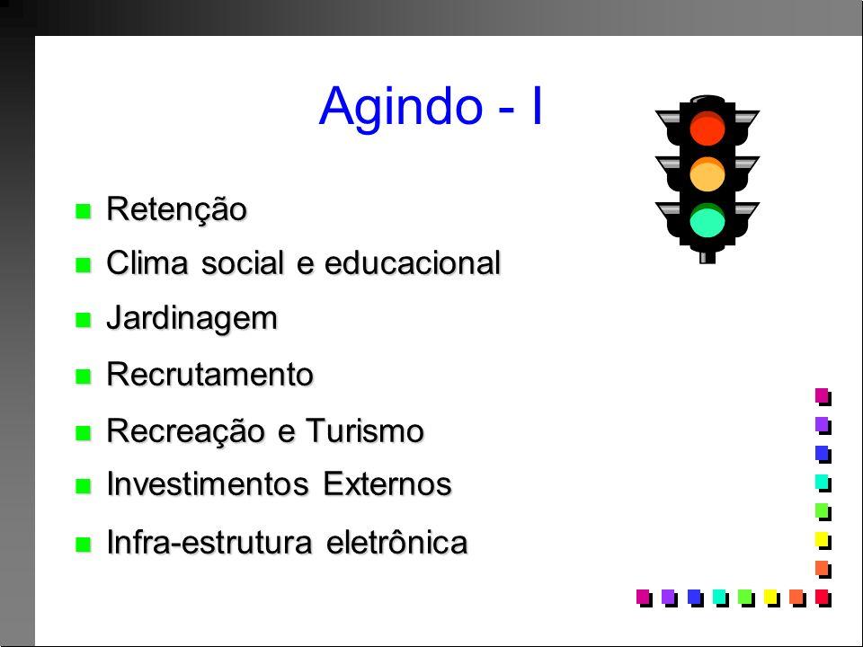 Agindo - II n Infra-estrutura n Construa e acontecerá.