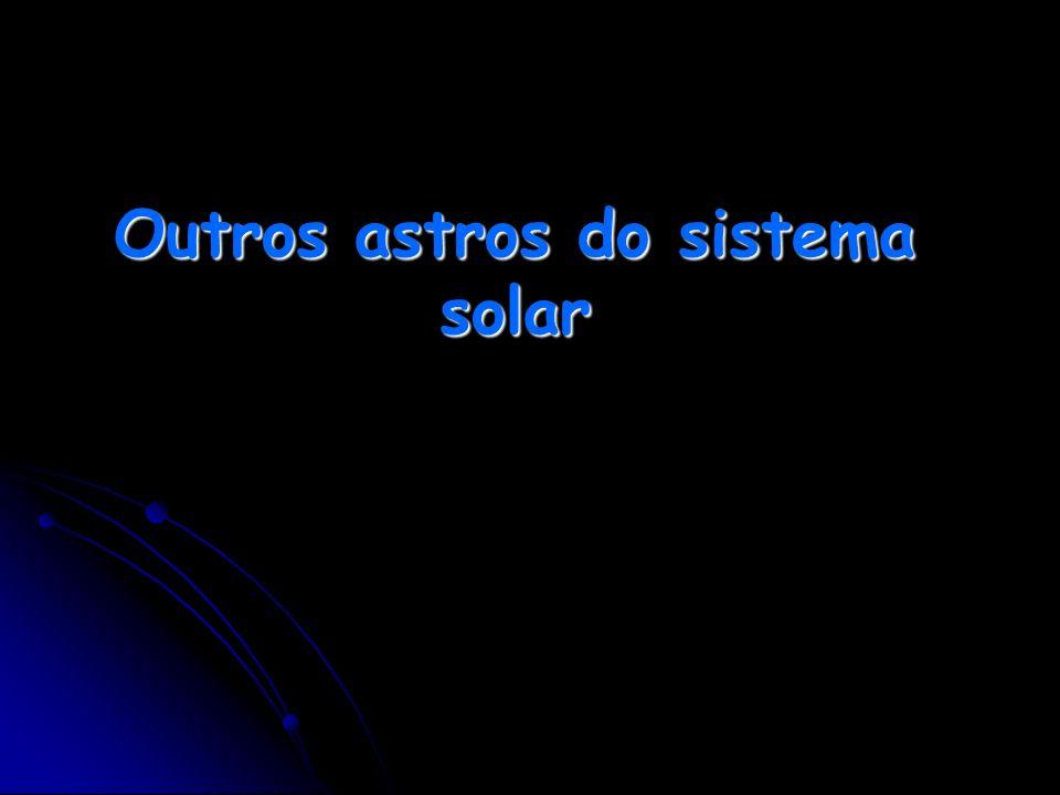 Outros astros do sistema solar