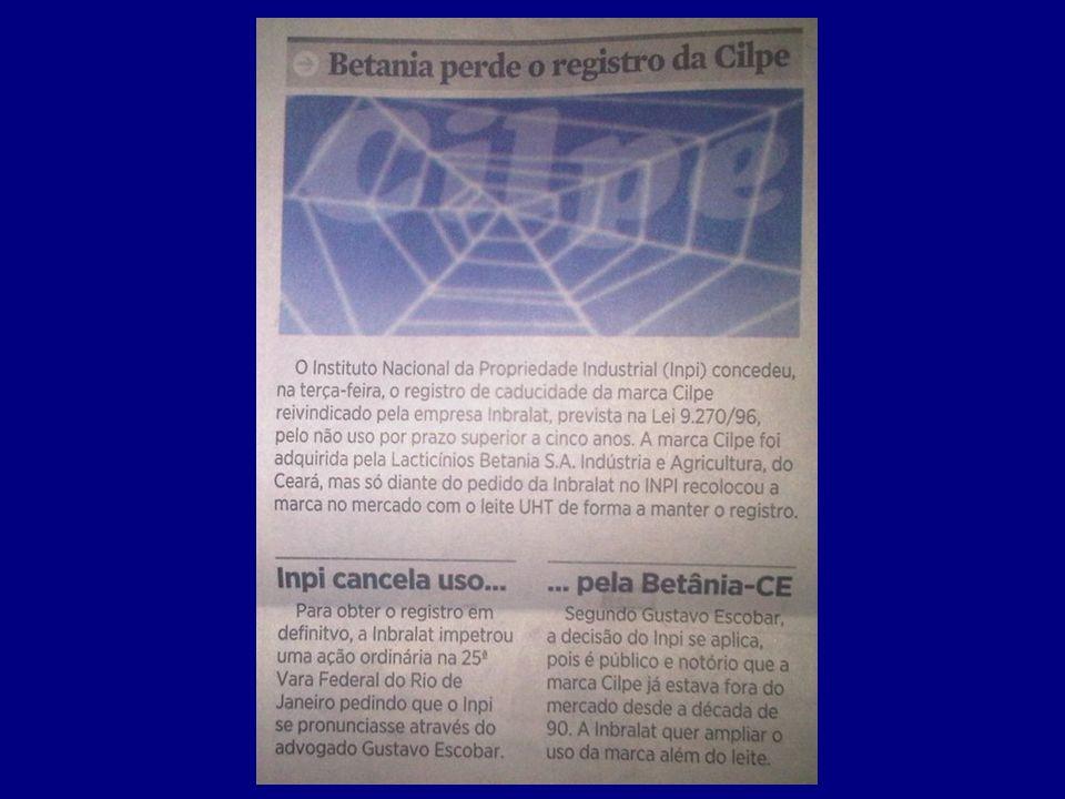 Marca de Alto Renome A lei brasileira prevê ainda a Marca de Alto Renome, para os casos em que o sinal devidamente registrado goze de renome que transcenda o segmento de mercado para o qual ele foi originalmente destinado.