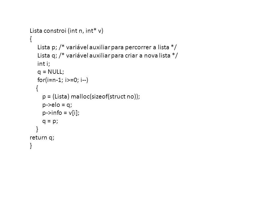 Lista retira_prefixo(int n, Lista L);