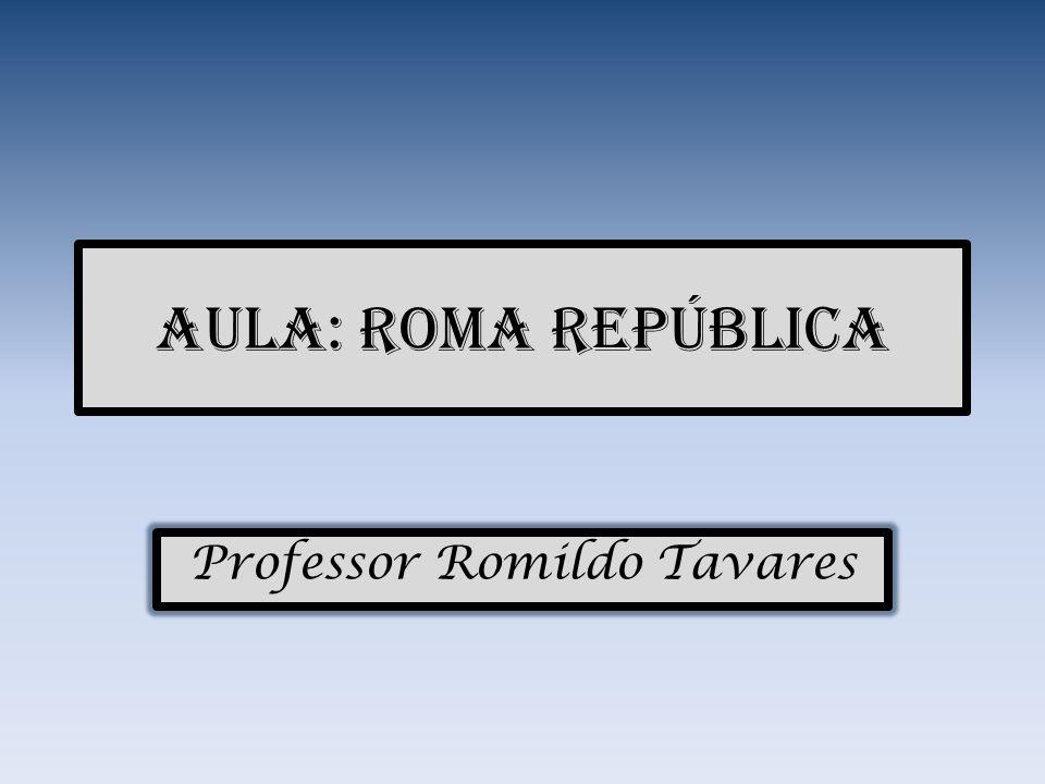 Roma República Instituições: Senado Magistraturas Assembléias