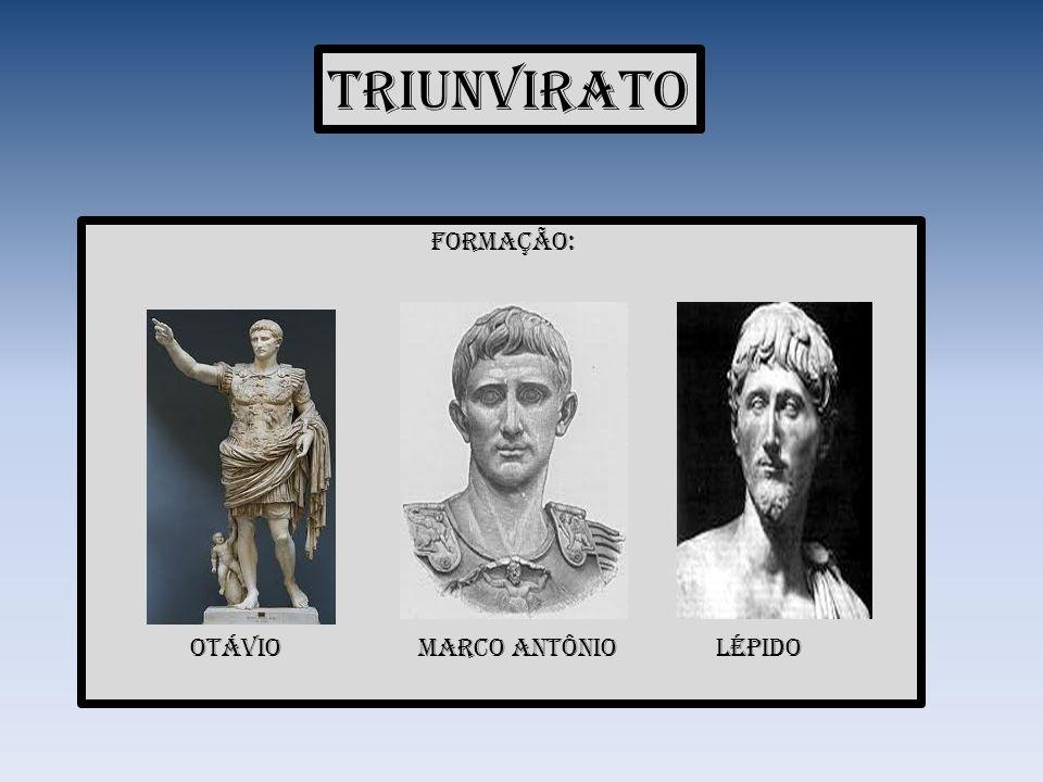 Crise no triunvirato Cesar - feriu os interesses da aristocracia.
