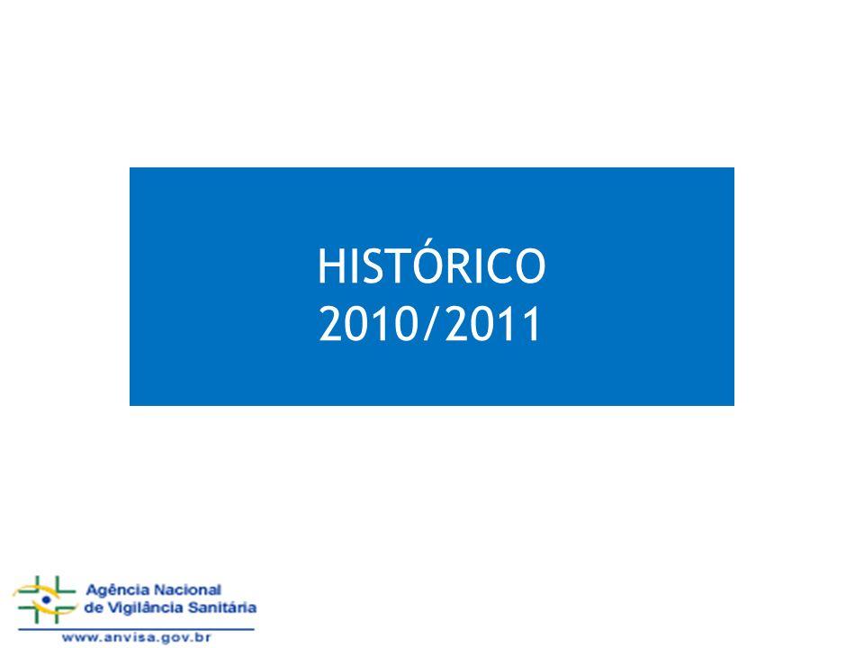 HISTÓRICO 2010/2011