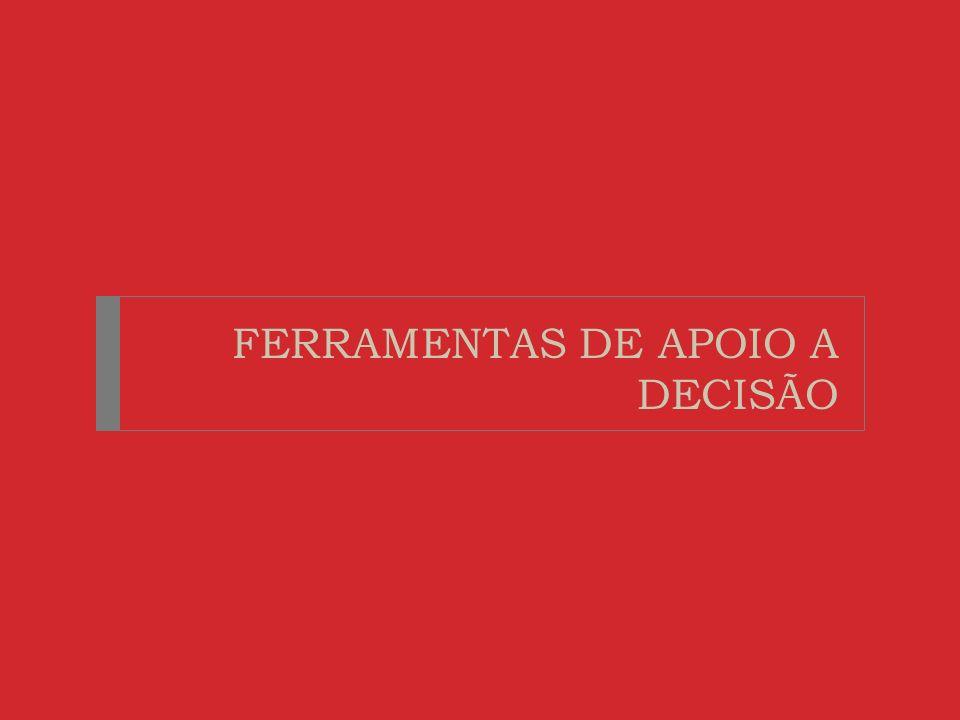 FERRAMENTAS DE APOIO A DECISÃO