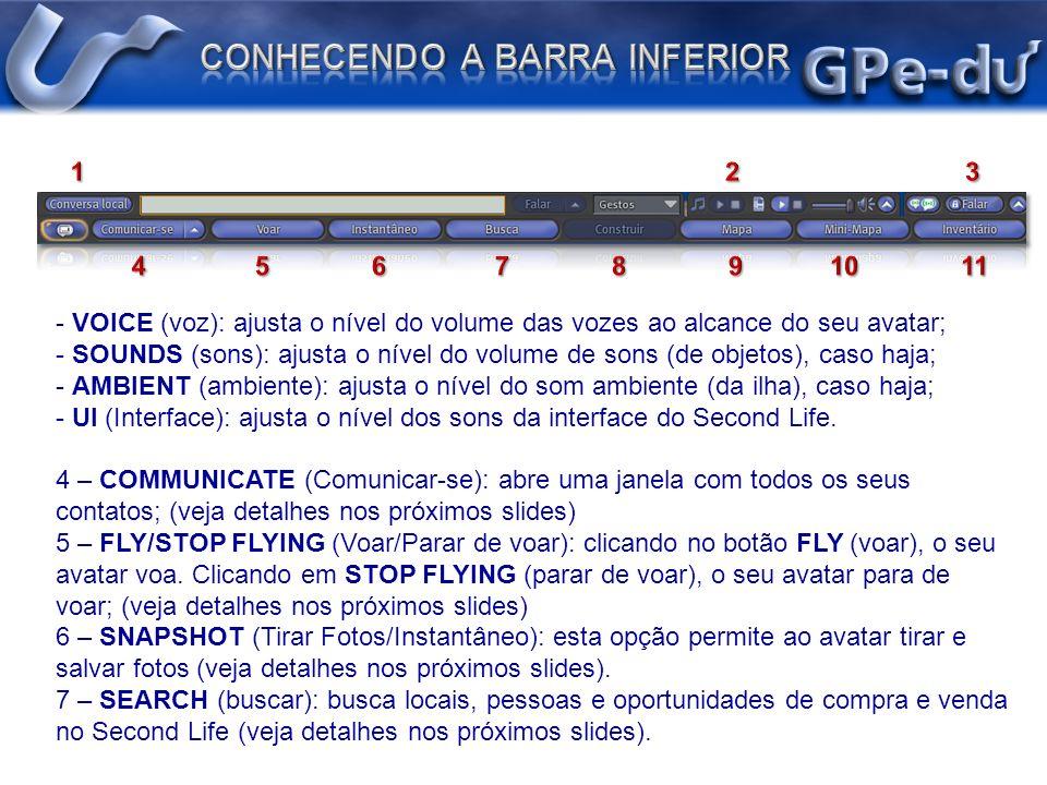 8 – BUILD (construir): apresenta o menu de construção 9 – MAP (Mapa) : apresenta um mapa detalhado (veja detalhes nos próximos slides).