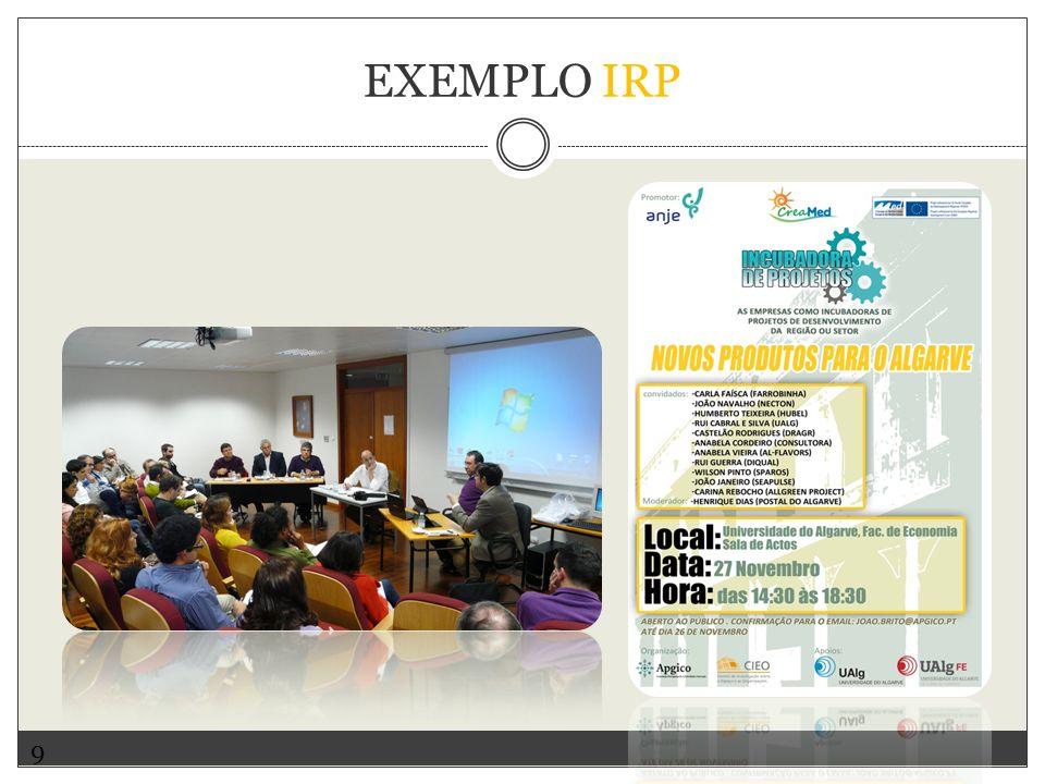9 EXEMPLO IRP