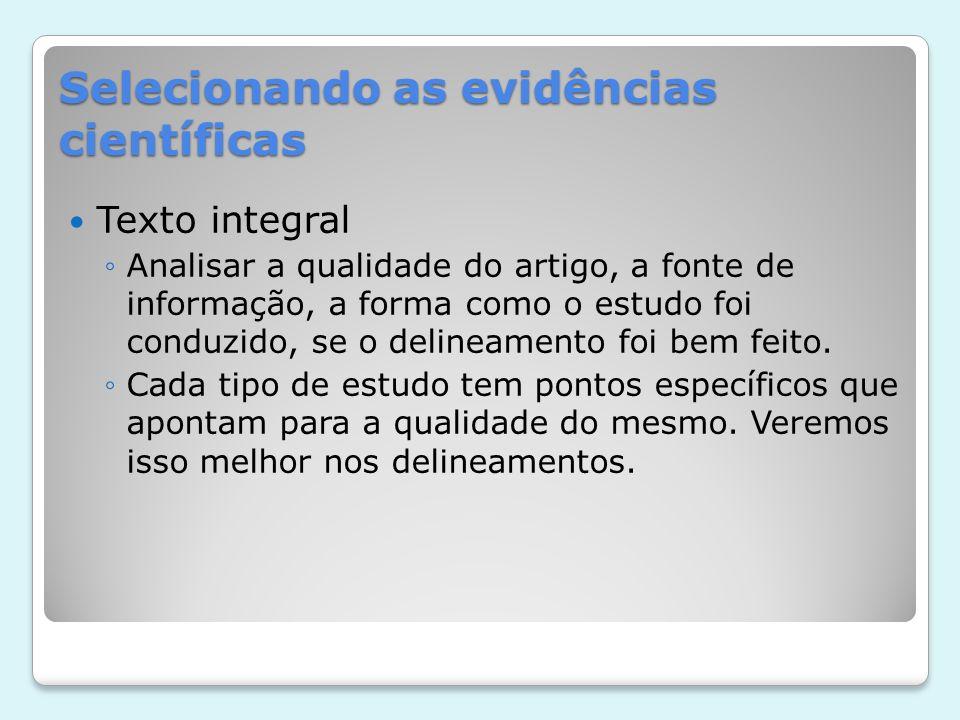 Referências http://www.capes.gov.br/avaliacao/qualis Rocha-e-Silva M.