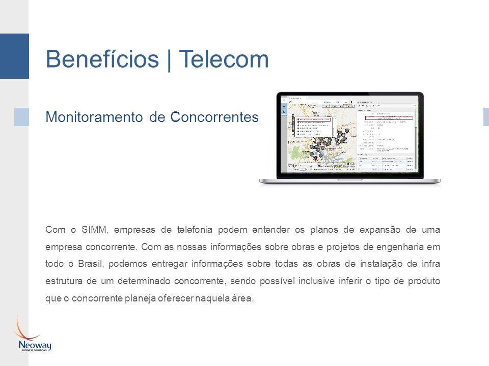 Benefícios | Telecom Aplicação móvel para prospecção em campo - SIMM Vendas O SIMM com seu módulo de Vendas permite que informações enviadas a dispositivos móveis utilizados por equipes comerciais em campo, sejam alimentadas mesmo que em modo offline.