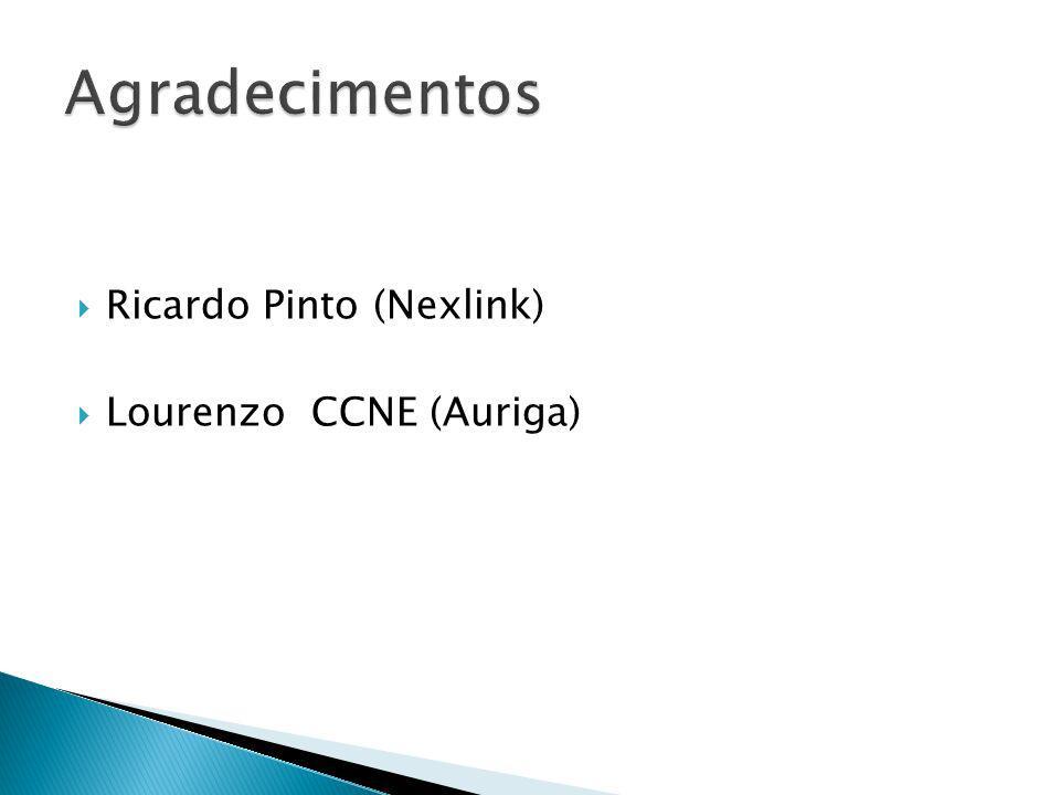 Ricardo Pinto (Nexlink) Lourenzo CCNE (Auriga)