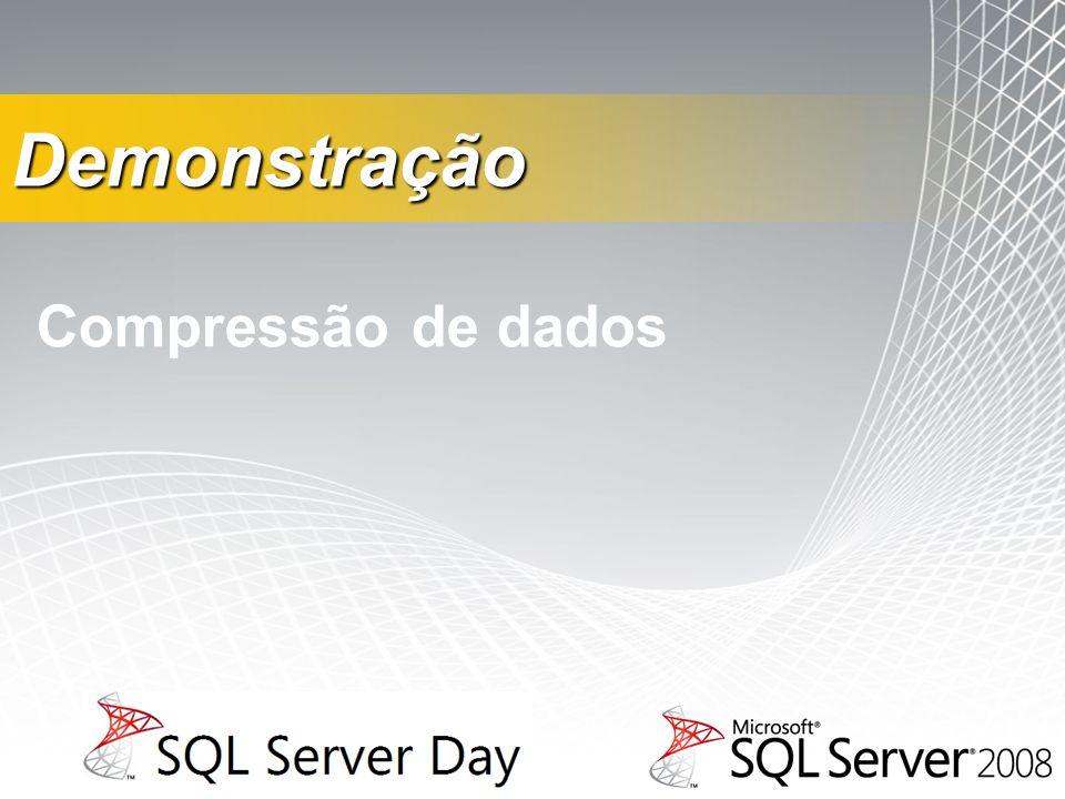 Compressão de dados Demonstração