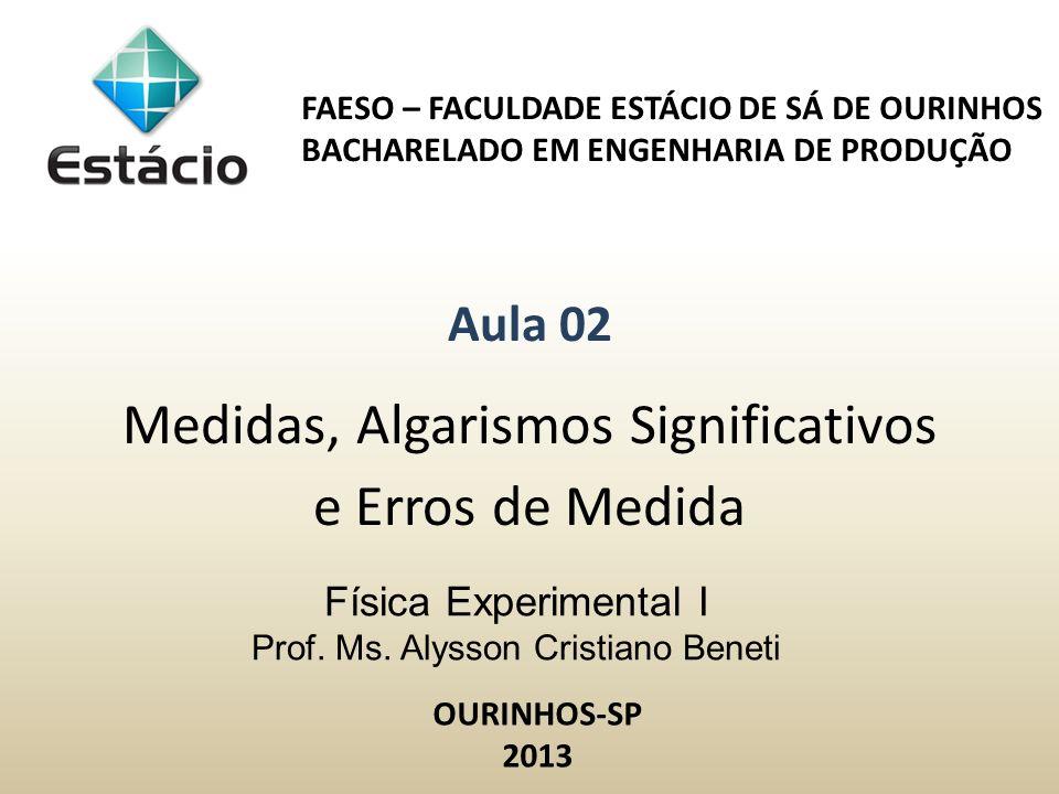 Física Experimental I Prof.Ms.