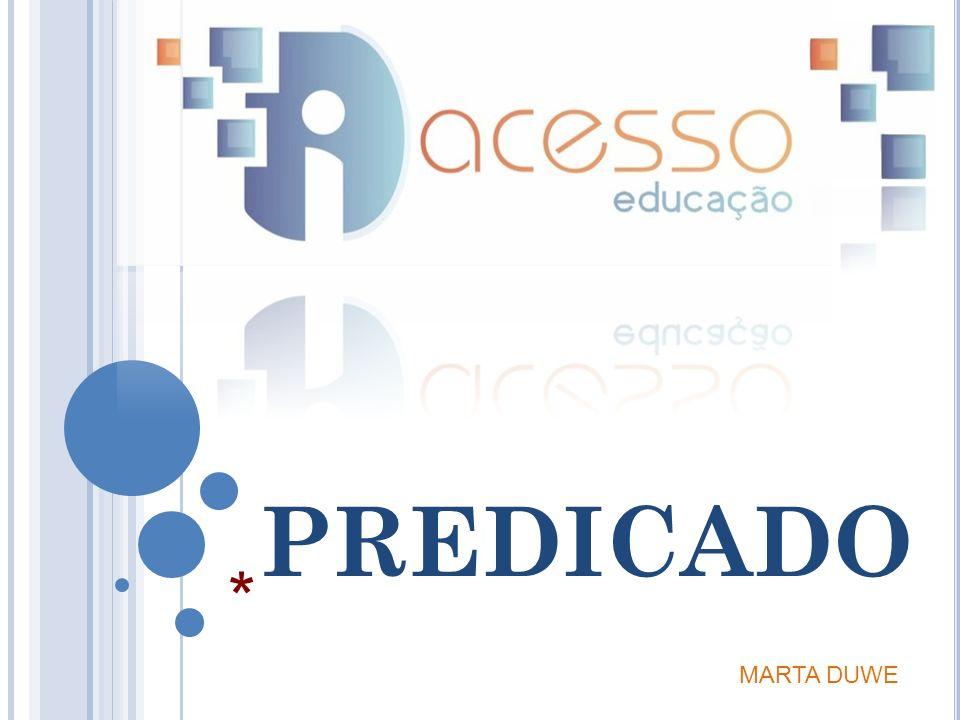 PREDICADO MARTA DUWE *
