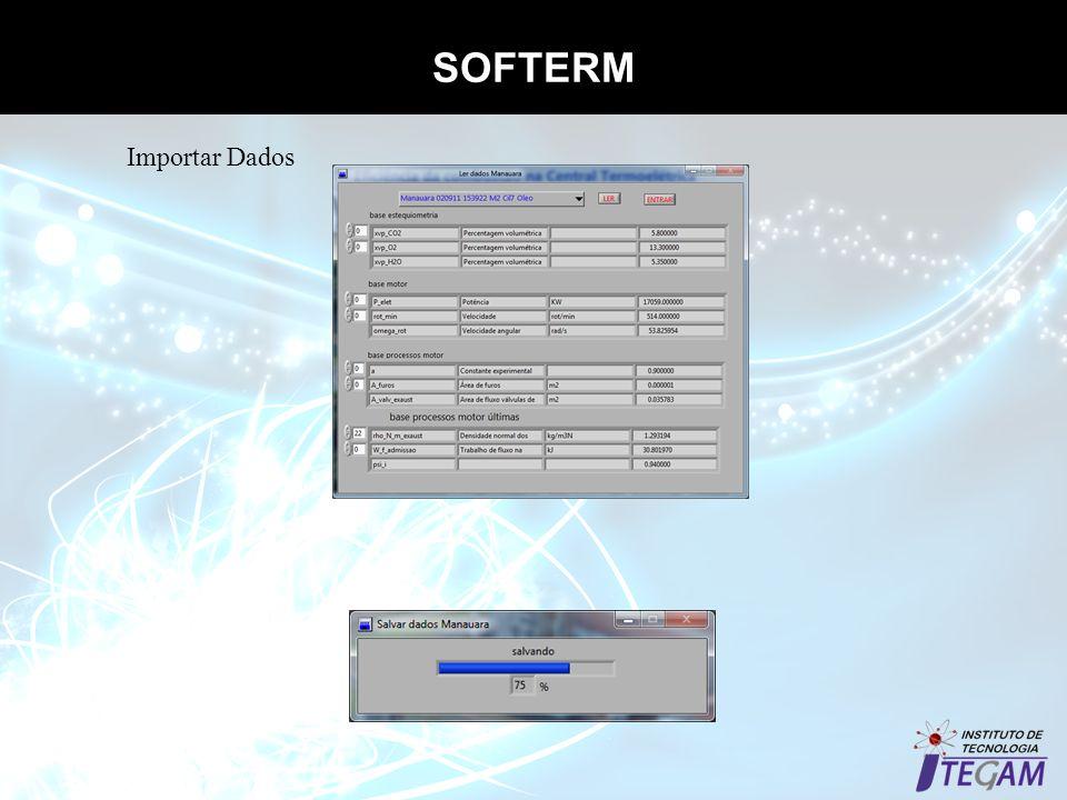 SOFTERM Importar Dados