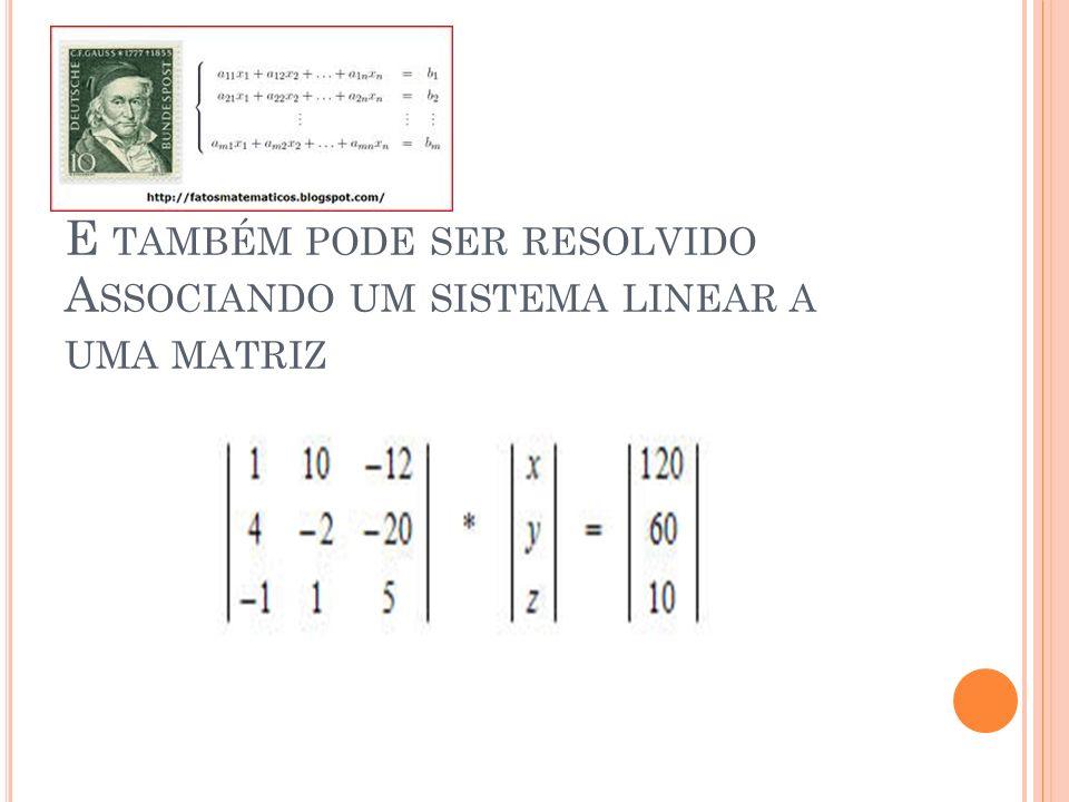 M ÉTODO DA SUBSTITUIÇÃO : x + y = 3 x – y = 1 Onda na 1ª equação isolamos a variável x, tendo x= 3-y e substituímos na segunda equação: (3-y) – y = 1