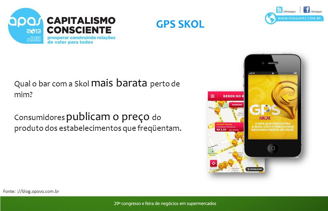 GPS SKOL Qual o bar com a Skol mais barata perto de mim.