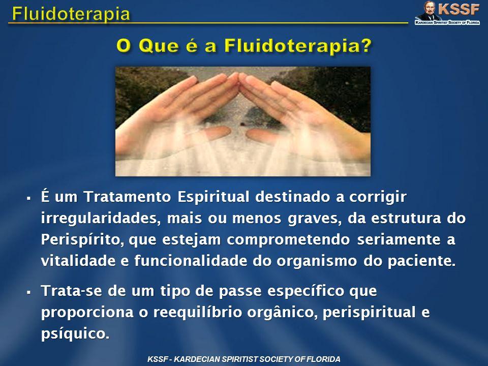 É um Tratamento Espiritual destinado a corrigir irregularidades, mais ou menos graves, da estrutura do Perispírito, que estejam comprometendo seriamen