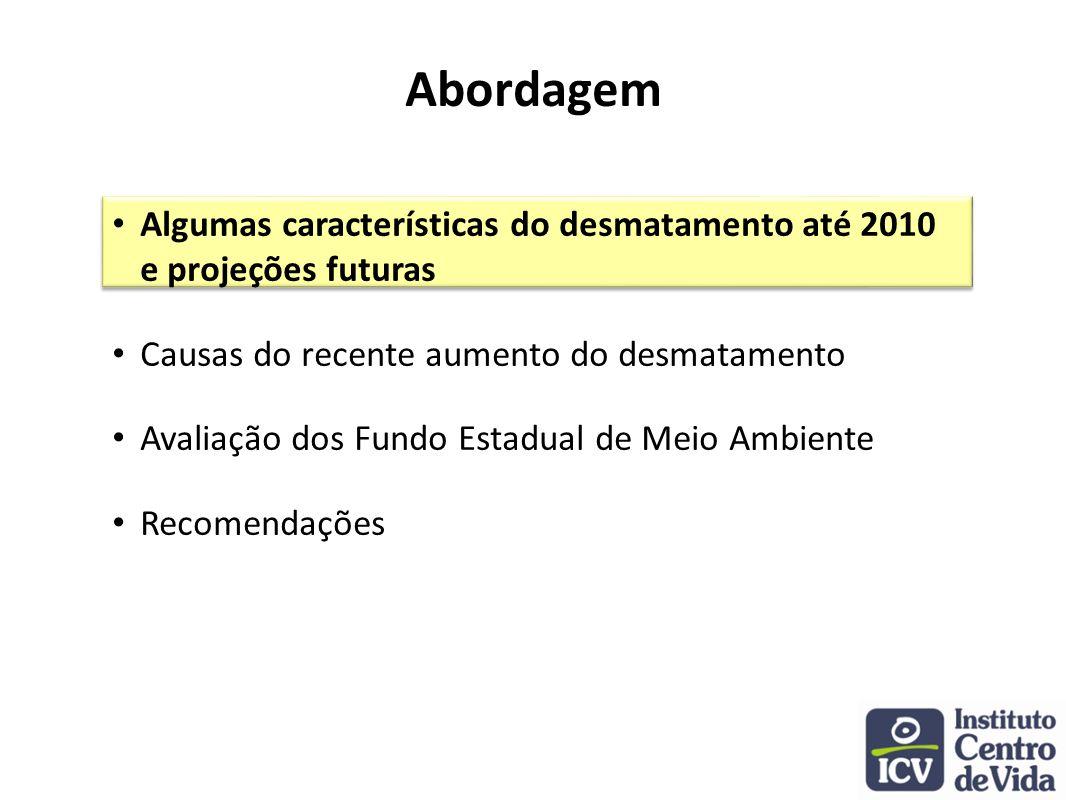 2009/2010: Redução de 90% em relação ao período 2001 / 2005 Mato Grosso: redução ou controle do desmatamento?