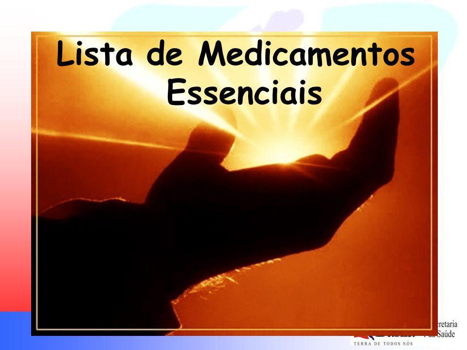 Lista de Medicamentos Essenciais