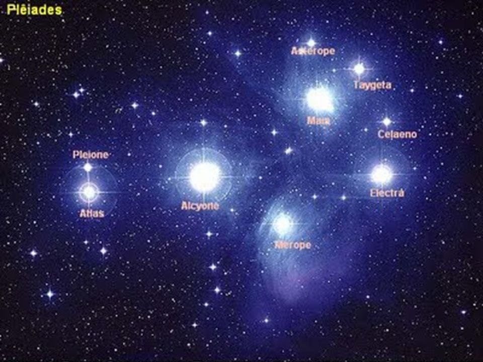 O aglomerado faz parte da constelação de Touro.