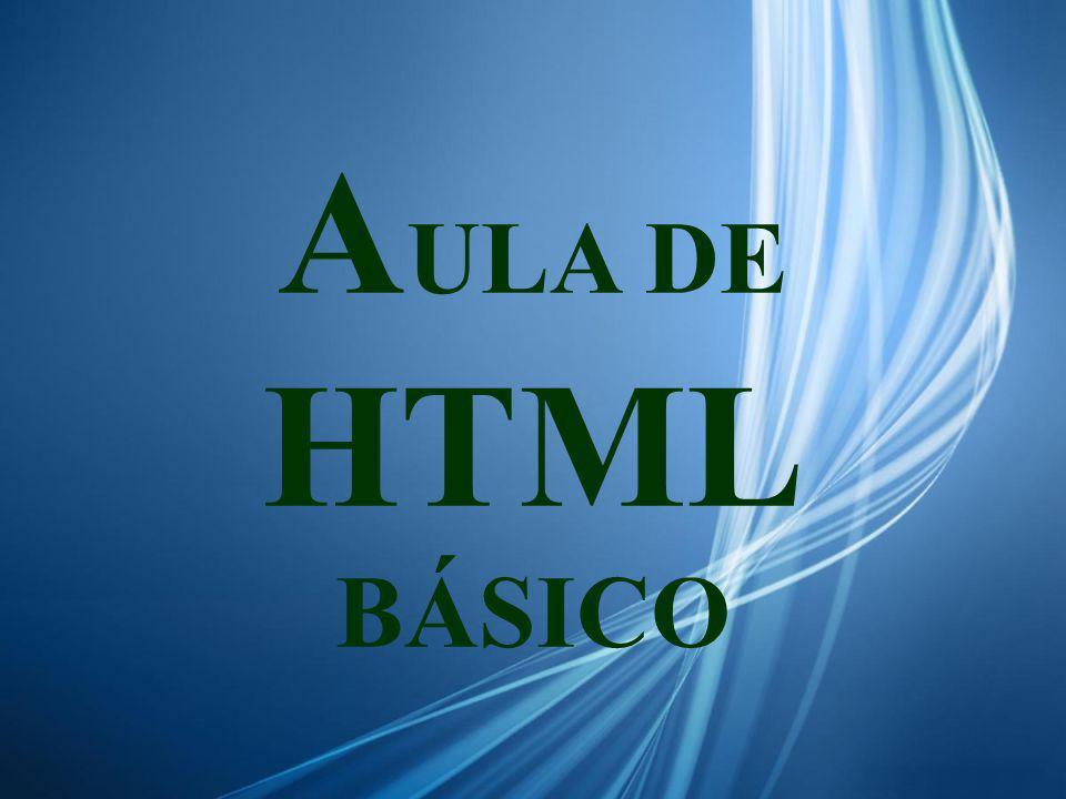 A ULA DE HTML BÁSICO