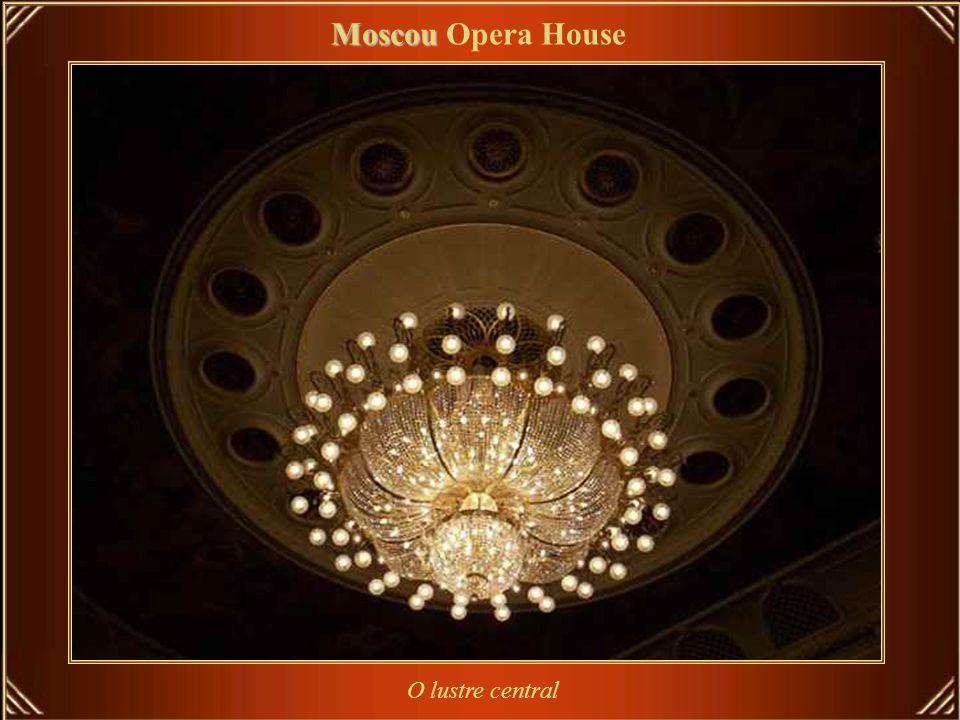 Moscou Moscou Opera House A sala de espetáculos