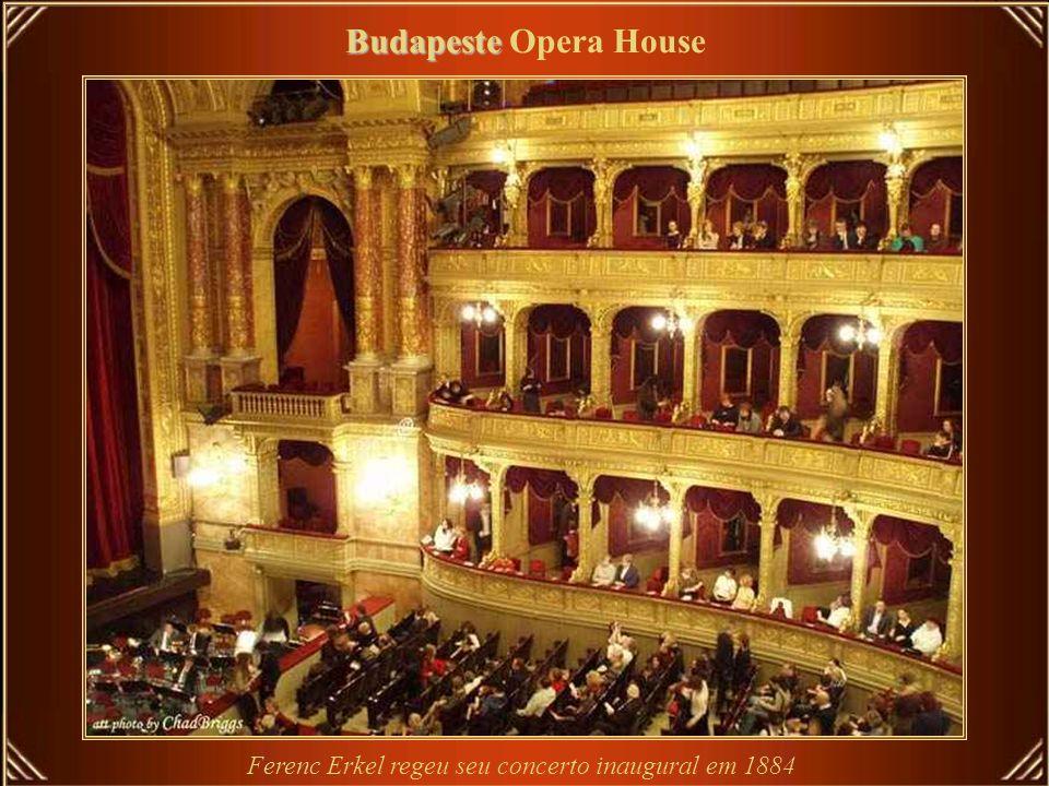 Budapeste Budapeste Opera House Hungarian Opera House - projetado e construído em estilo renascentista