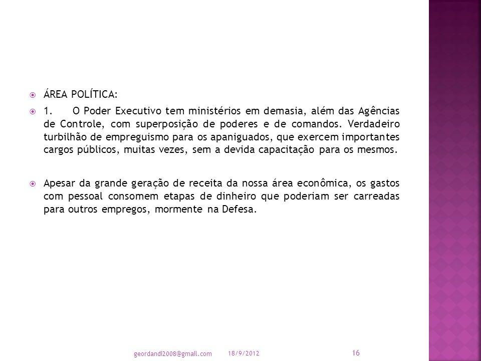 3. A educação básica brasileira está muito aquém das nossas necessidades.