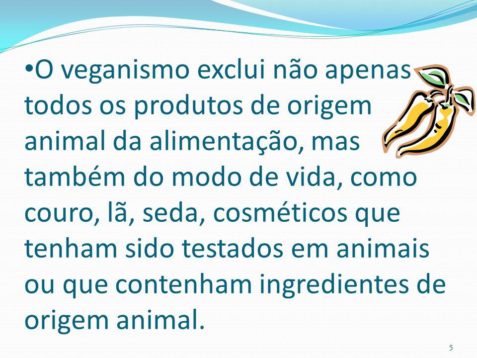 Existem diferentes tipos de vegetarianos, sendo que há algumas divisões principais: Ovo- lacto- vegetarianos: Quem não consome nenhum tipo de carne, mas consome ovos, leite e derivados.
