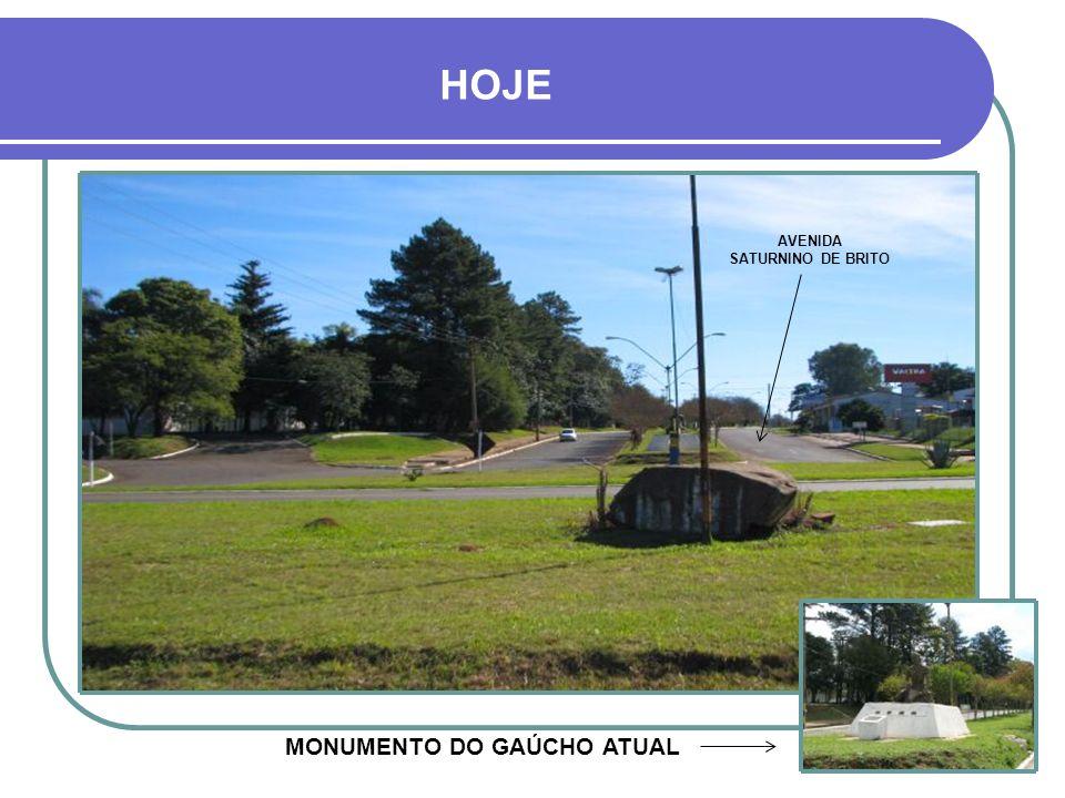 ENTRADA DA CIDADE - VIA BR 158 MONUMENTO DO GAUCHINHO (SETA)