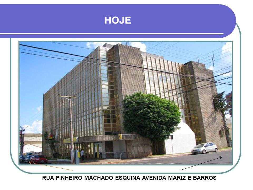 1977 - BANCO DO BRASIL ESTE FOI O ANO EM QUE O BANCO DO BRASIL PASSOU A FUNCIONAR DEFINITIVAMENTE NO PRÉDIO NOVO