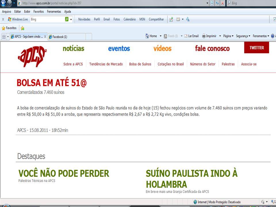 Sobra de carne suína faz preço cair Excesso de oferta no mercado paulista está derrubando o preço da carne suína.