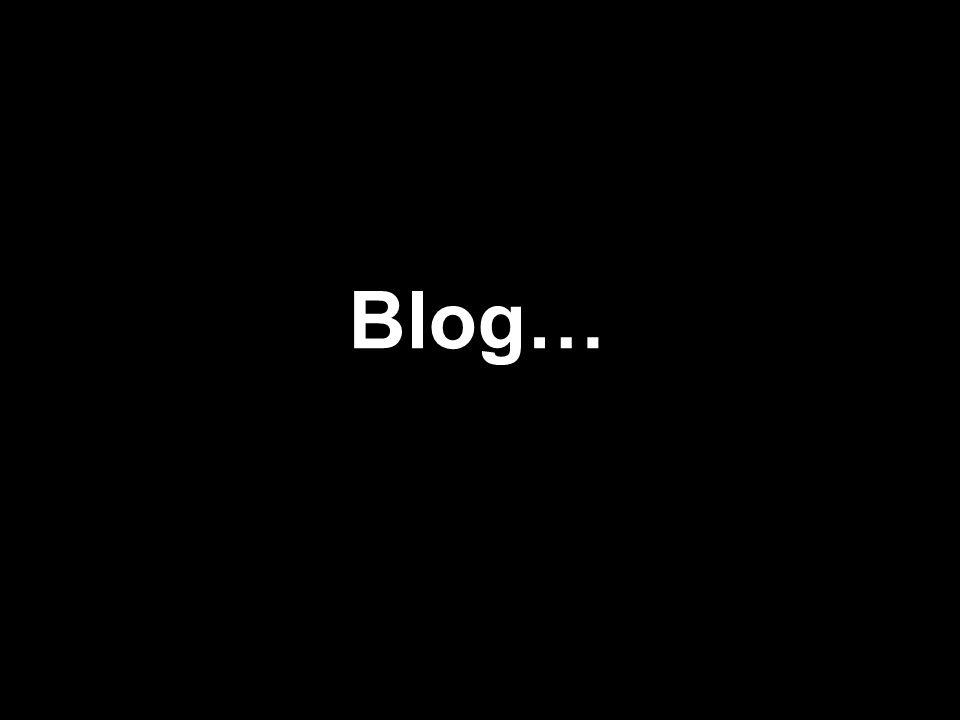 Blog…