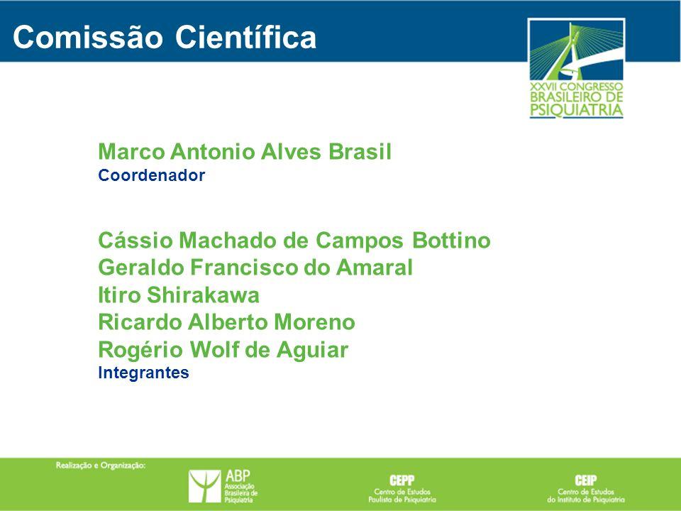 Marco Antonio Alves Brasil Coordenador Cássio Machado de Campos Bottino Geraldo Francisco do Amaral Itiro Shirakawa Ricardo Alberto Moreno Rogério Wol