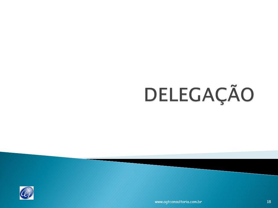 Relações complexas Uso da autoridade conjunta para fins de controle (serviços além da assistência, mas autoriza – resguarda erros possíveis) Combinação de atividades de apoio com assessoria Delegação de poderes No processo de delegação de poderes que acontece com a autoridade e a responsabilidade.