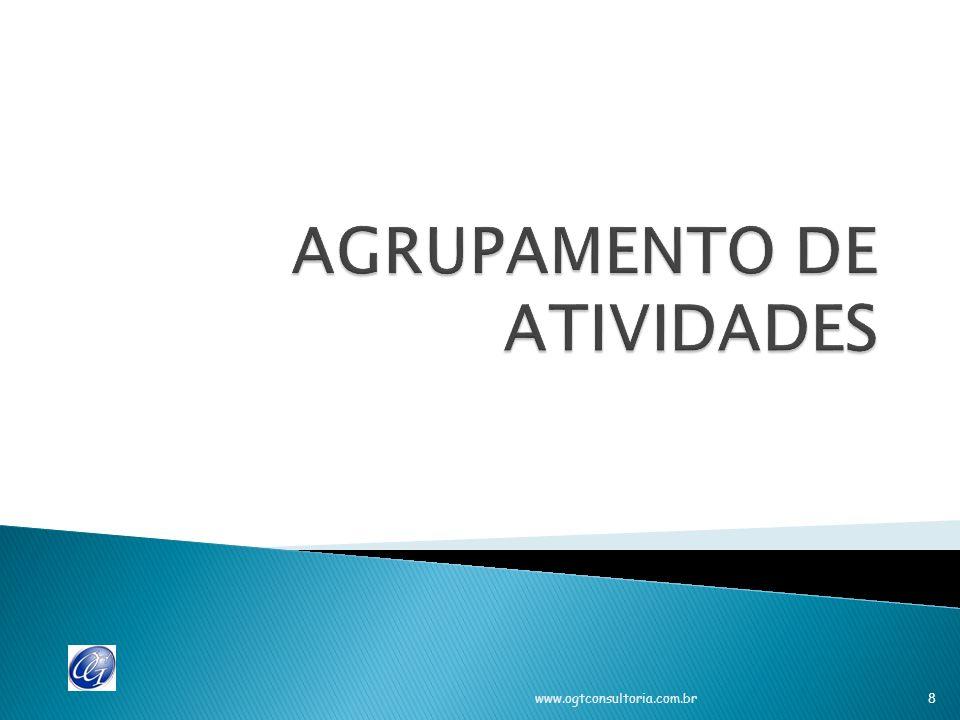 Limites e amplitude de supervisão Equilíbrio funcional / estrutural www.ogtconsultoria.com.br7