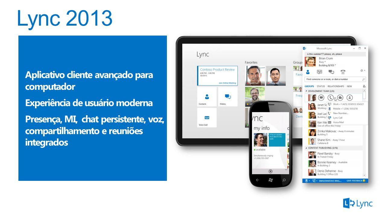 Cliente navegador para reuniões online Conferências em HD Funciona em PC e Mac